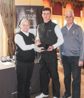 Jamie Fletcher (Warrenpoint) won the U21 section at Lough Erne