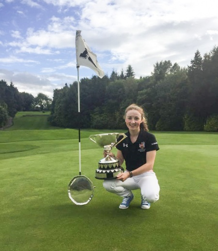 Ulster champion, Jessica Ross