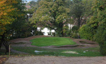 On-going work at Holywood Golf Club