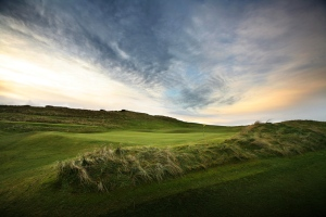 Castlerock's 17th green
