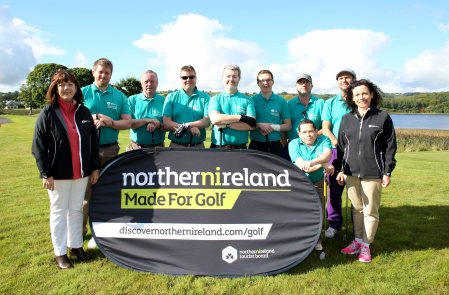 Team NI - 3-1 and full of hope before the collapse at Lough Erne